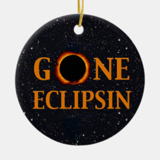 Ornamento De Cerâmica Eclipse solar IDO de ECLIPSIN