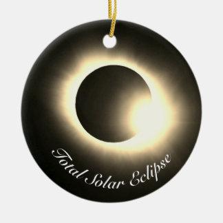 Ornamento De Cerâmica Eclipse solar total