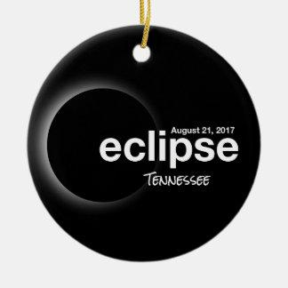 Ornamento De Cerâmica Eclipse solar total 2017 - Tennessee