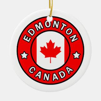 Ornamento De Cerâmica Edmonton Canadá