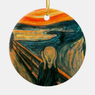 Ornamento De Cerâmica EDVARD MUNCH - o gritar 1893