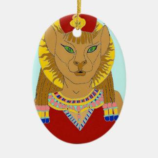 Ornamento De Cerâmica Egípcio