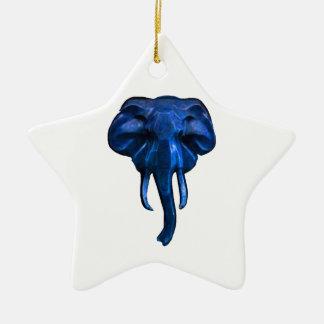 Ornamento De Cerâmica Elefante da coragem
