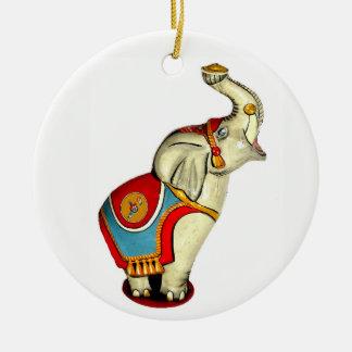 Ornamento De Cerâmica Elefante do circo