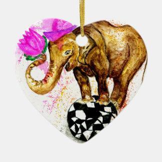 Ornamento De Cerâmica Elefante dos desenhos animados