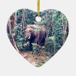 Ornamento De Cerâmica Elefante em Tailândia