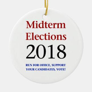 Ornamento De Cerâmica Eleições Midterm 2018