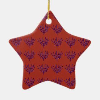 Ornamento De Cerâmica Elementos de Ethno do design de Seeweeds