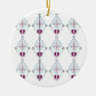 Ornamento De Cerâmica Elementos do design no branco