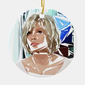 Ornamento De Cerâmica Elisabeth_Guigou