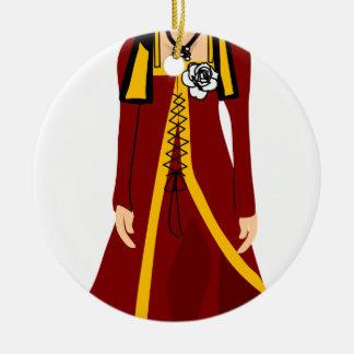 Ornamento De Cerâmica Elizabeth de York
