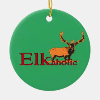 Ornamento De Cerâmica Elkaholic 2