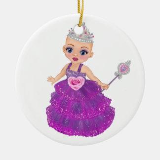 Ornamento De Cerâmica Ella a princesa Enchanted Que Ser Você?