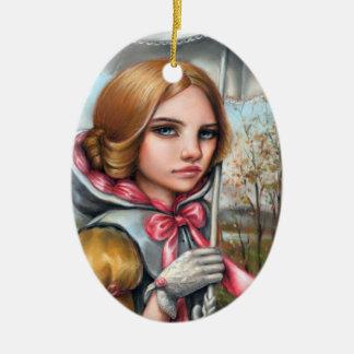 Ornamento De Cerâmica Emma