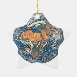 Ornamento De Cerâmica Enterre a vista focalizada no berço da civilização