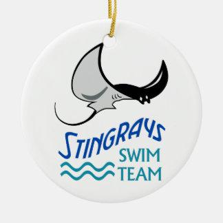 Ornamento De Cerâmica Equipe de natação