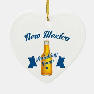 Ornamento De Cerâmica Equipe do bebendo de New mexico