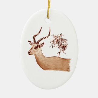 Ornamento De Cerâmica Esboço animal do desenho dos animais selvagens do