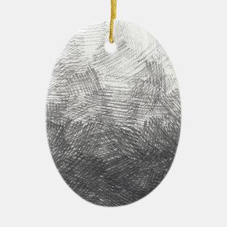 Ornamento De Cerâmica Esboço do lápis. Cursos da hachura. #002a