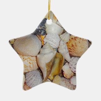 Ornamento De Cerâmica Escudos do mar