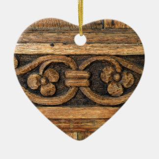 Ornamento De Cerâmica escultura de madeira do painel