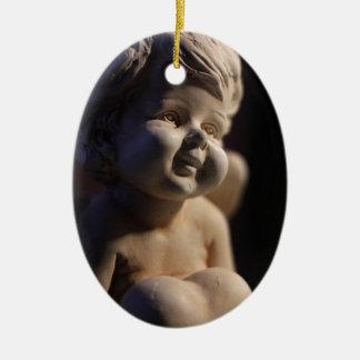 Ornamento De Cerâmica Escultura do anjo