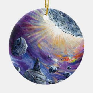 Ornamento De Cerâmica Espaço