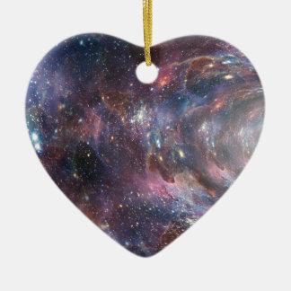 Ornamento De Cerâmica Espaço profundo