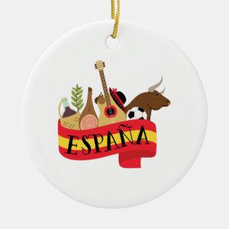 Ornamento De Cerâmica Espana