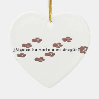 Ornamento De Cerâmica Espanhol-Dragão