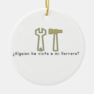 Ornamento De Cerâmica Espanhol-Ferreiro