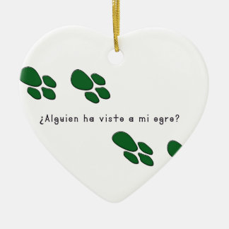 Ornamento De Cerâmica Espanhol-Ogre