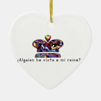 Ornamento De Cerâmica Espanhol-Rainha