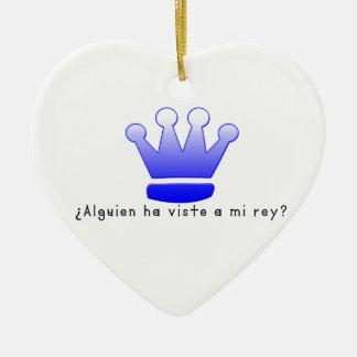 Ornamento De Cerâmica Espanhol-Rei