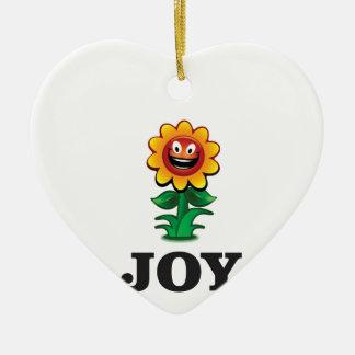 Ornamento De Cerâmica esperança da alegria da flor do sol