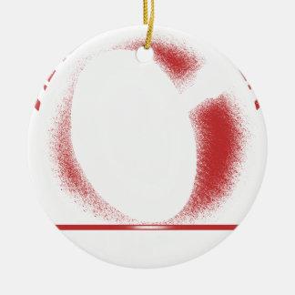 Ornamento De Cerâmica espere o x