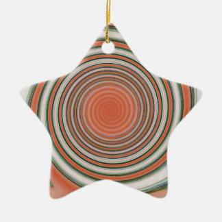 Ornamento De Cerâmica Espiral - limite