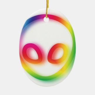 Ornamento De Cerâmica Esta alienígena não é cinzenta - seu quadril!