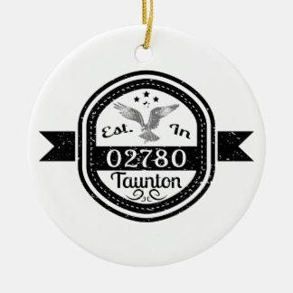 Ornamento De Cerâmica Estabelecido em 02780 Taunton