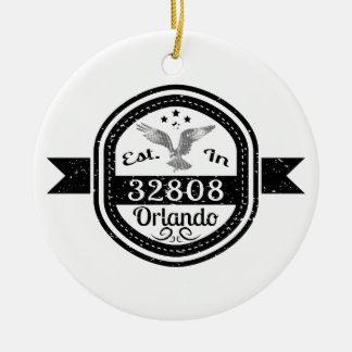 Ornamento De Cerâmica Estabelecido em 32808 Orlando