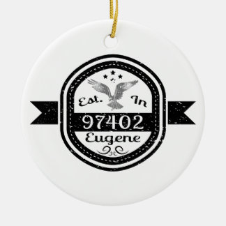 Ornamento De Cerâmica Estabelecido em 97402 Eugene