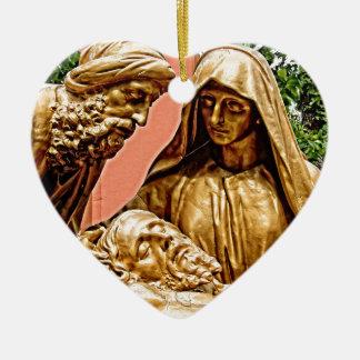 Ornamento De Cerâmica Estação em Lourdes