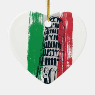 Ornamento De Cerâmica estátua italiana do vintage