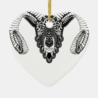 Ornamento De Cerâmica Estilo da mandala do desenho da ram