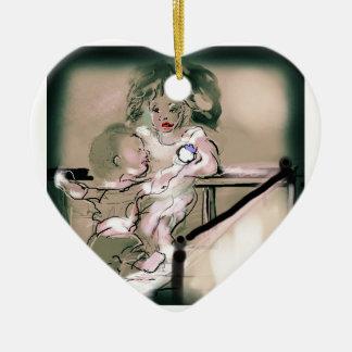 Ornamento De Cerâmica Estilo do vintage da captura da ucha