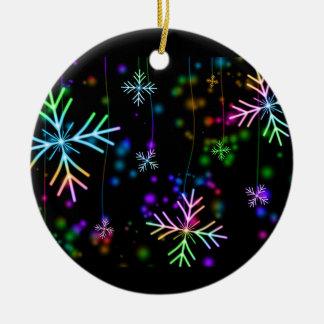 Ornamento De Cerâmica Estrela da neve