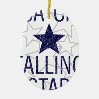 Ornamento De Cerâmica estrela de queda da captura