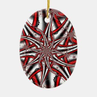 Ornamento De Cerâmica Estrela louca