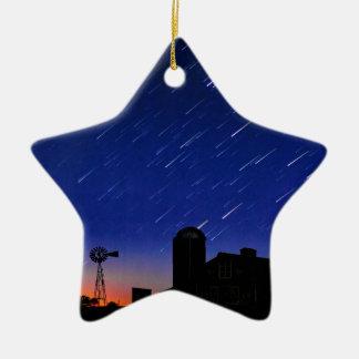 Ornamento De Cerâmica Estrelas da fazenda