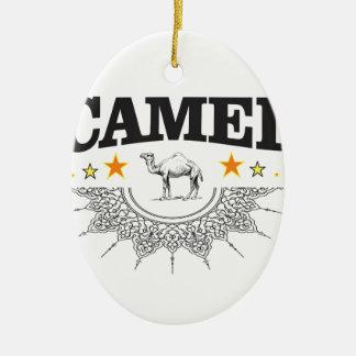 Ornamento De Cerâmica estrelas do camelo